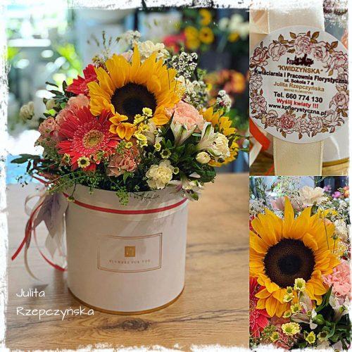 Box kwiatowy 13