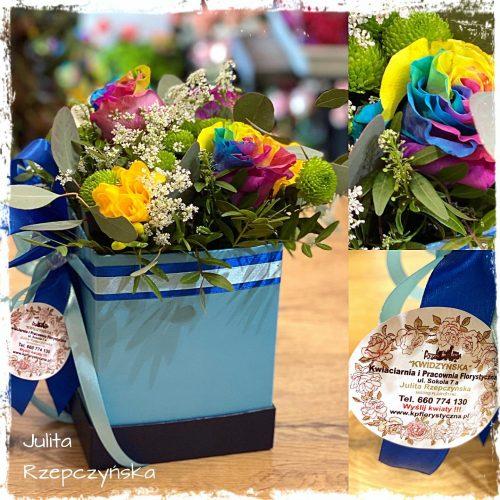 Box kwiatowy 16