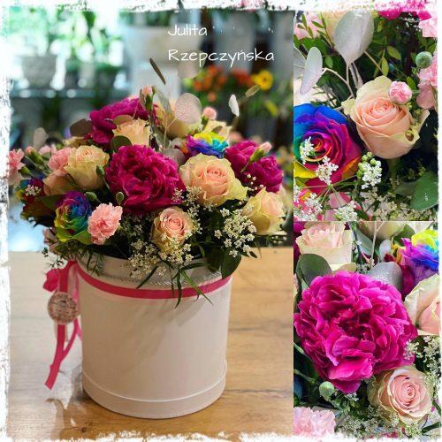 Box kwiatowy 17