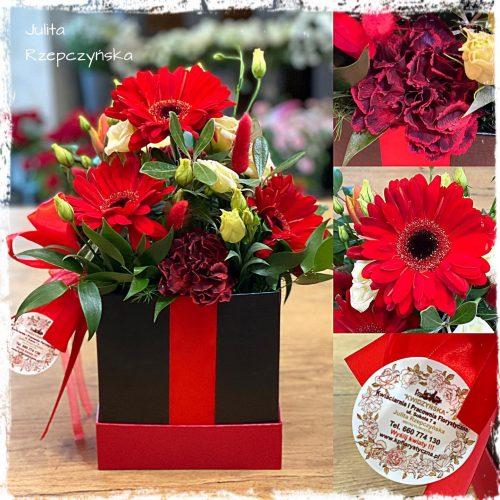 Box kwiatowy 18