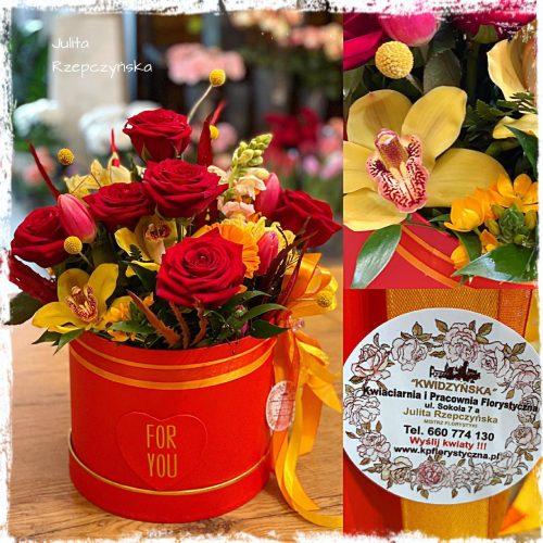 Box kwiatowy 19