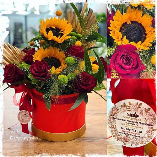 Box kwiatowy 8