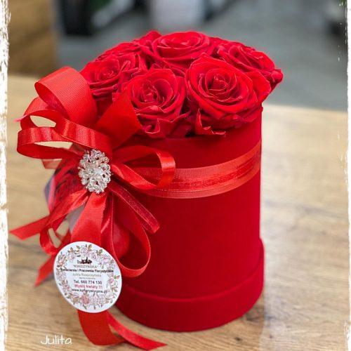 Box - wieczne róże