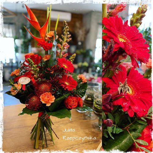 bukiet mieszanych kwiatów17