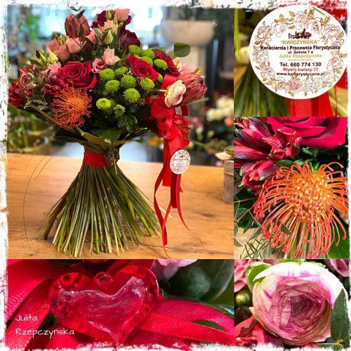 bukiet mieszanych kwiatów20