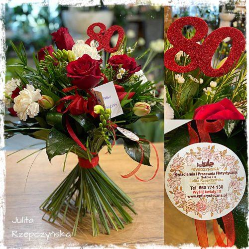 bukiet mieszanych kwiatów23