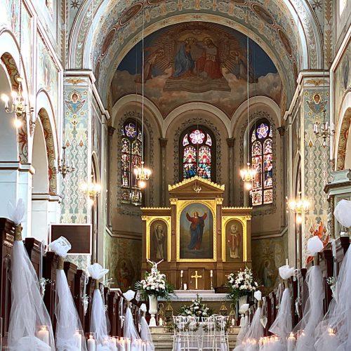 dekoracja kościoła 14