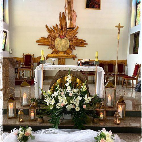 dekoracja kościoła 4