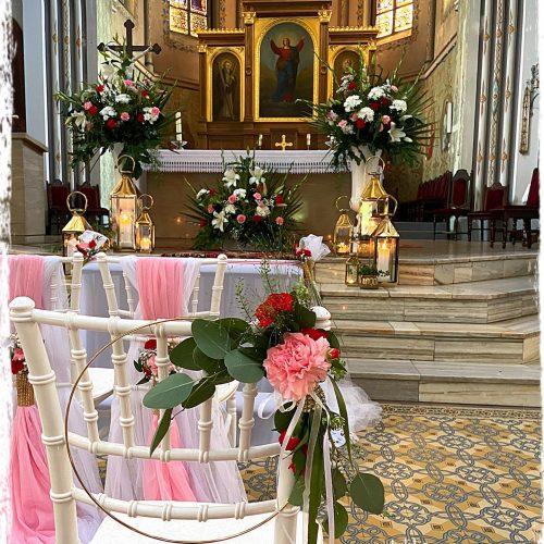 dekoracja kościoła 9