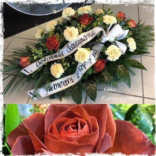 kompozycja funeralna - na florecie
