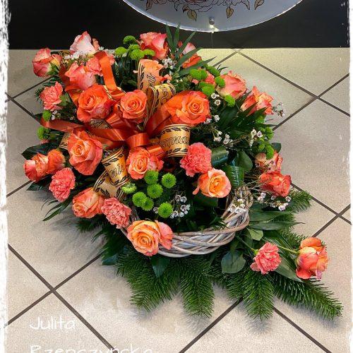 kompozycja funeralna - na florecie7