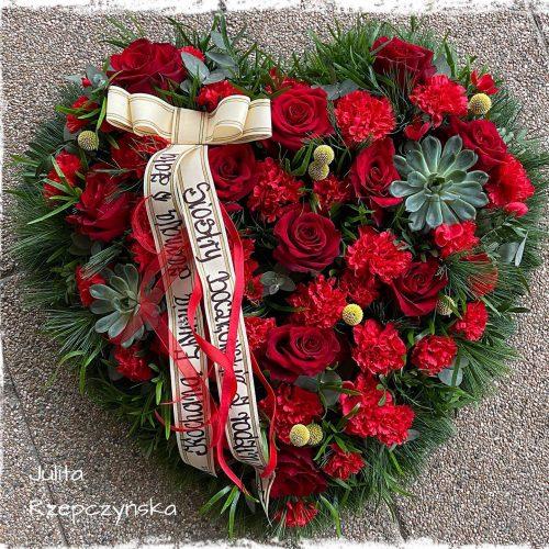 kompozycja funeralna serce13