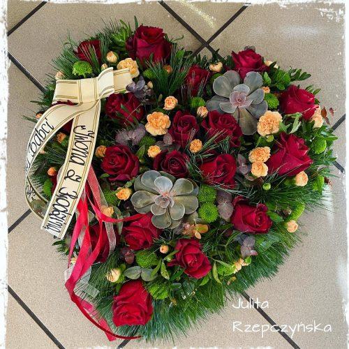 kompozycja funeralna serce9