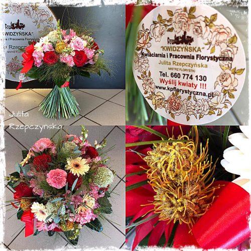 naturalny bukiet kwiatów1
