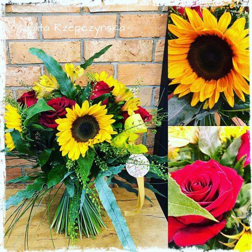 naturalny bukiet kwiatów2
